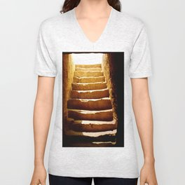 Steps to tomb Unisex V-Neck