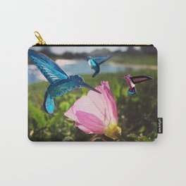 Hummingbirds at work Carry-All Pouch