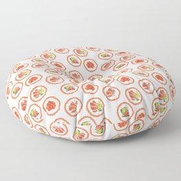 Tasty sushi Floor Pillow