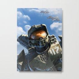 Halo 117 Metal Print