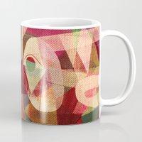 rio Mugs featuring Rio Doce by Fernando Vieira