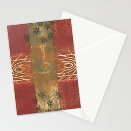 Monoprint 4 Stationery Cards
