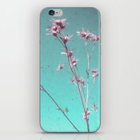 alone iPhone & iPod Skins featuring Alone by Cassia Beck