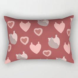 An Ardent Heart Rectangular Pillow