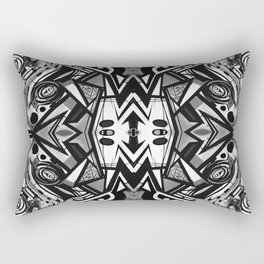 "Future funk Pattern ""symeric"" Rectangular Pillow"