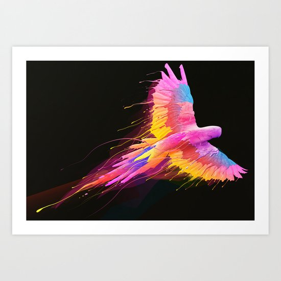 Flying Colors Art Print
