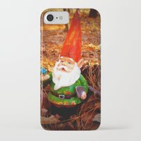 gnome iPhone & iPod Cases featuring Mr. Gnome by Olive Coleman Photography