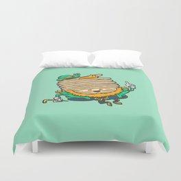 St Patricks Cakes Duvet Cover