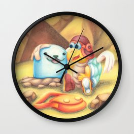 ParaWhacka / Whackarry OTP Wall Clock