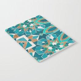 Zellige - Morocco - Casablanca II Notebook