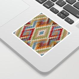 kilim rug pattern Sticker