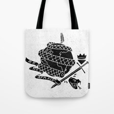 Be Not Afraid In This World Tote Bag