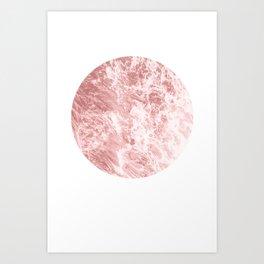 Foam Art Print
