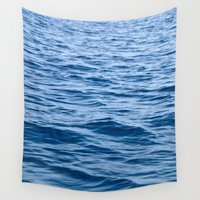 greek Wall Tapestries featuring Greek Waves by M. Gold Photography