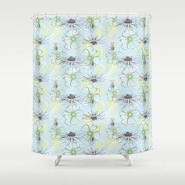 Stockholm Garden Floral Toss Shower Curtain