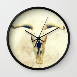 Lost in the Desert Wall Clock