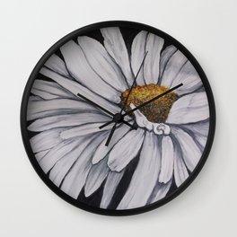 Pollari Shasta Daisy Wall Clock