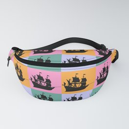 Pirate ship vintage Fanny Pack