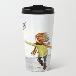 Run Metal Travel Mug