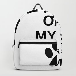 Only my cat understands me Backpack
