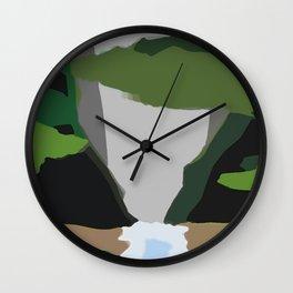 Gaping Gullies Guide Gonzos Wall Clock