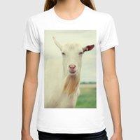 goat T-shirts featuring Goat by Falko Follert Art-FF77