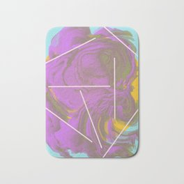 I Don't Want To Wait | Abstract Art Bath Mat