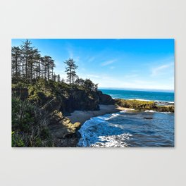 Coastal Cove - Oregon Canvas Print