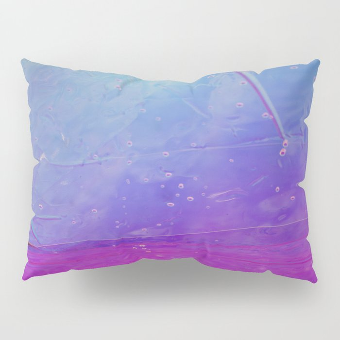 Abstract - blue and pink - Pillow Sham