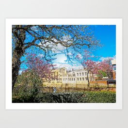York City Guildhall river Ouse Art Print