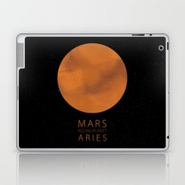Aries - Ruling Planet Mars Laptop & iPad Skin