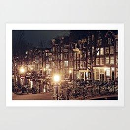 I Amsterdam.01 Art Print