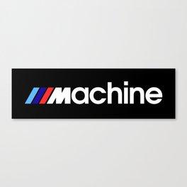 BMW Machine Canvas Print