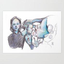 Drifted Art Print