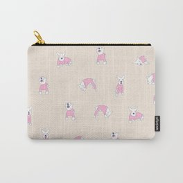 Mini Schnauzer Pattern Carry-All Pouch