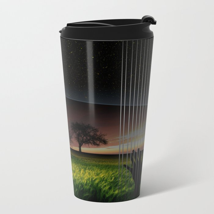 Lily Dream Metal Travel Mug
