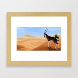 Arid Framed Art Print