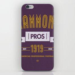 Hammond Pros iPhone Skin