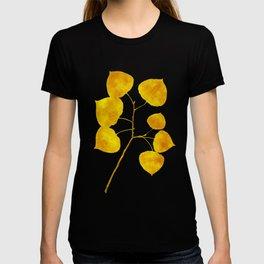 Gold Leaf Art T-shirt