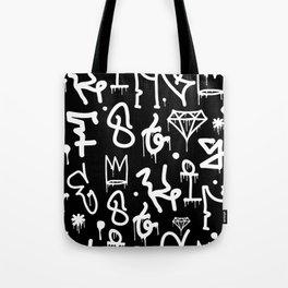 Crowns, Diamonds & Graffiti Tote Bag