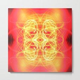 Dances with Light, Part III Metal Print