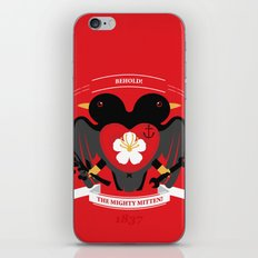 Doublebreasted Appleblossom iPhone & iPod Skin