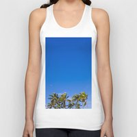 palm trees Tank Tops featuring Palm Trees by JacPfef