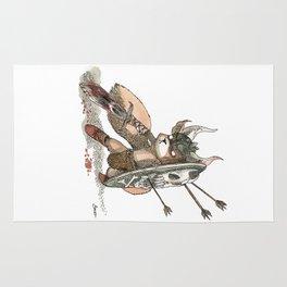 Écureuil Barbare Rug