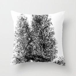 Just a pair. Throw Pillow