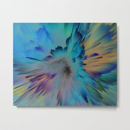 Carribean Explosion Metal Print