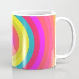 Pink Radial Coffee Mug