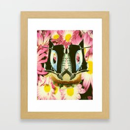 Cat Sandwich Framed Art Print