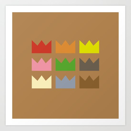 Kings Art Print