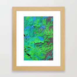 Green Entropy II Framed Art Print